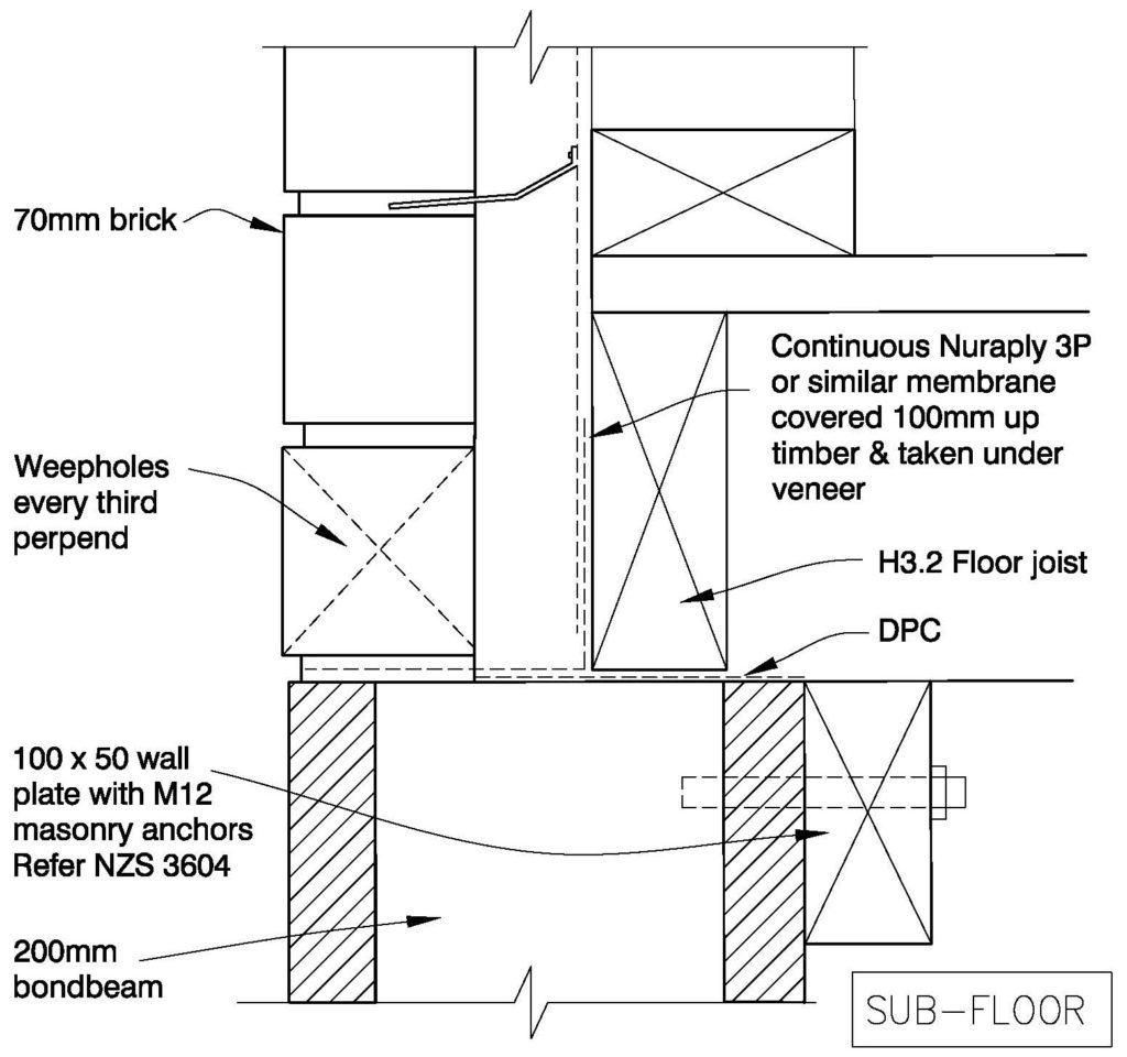 Clay Bricks – Timber Floor Option 1 - Single Level