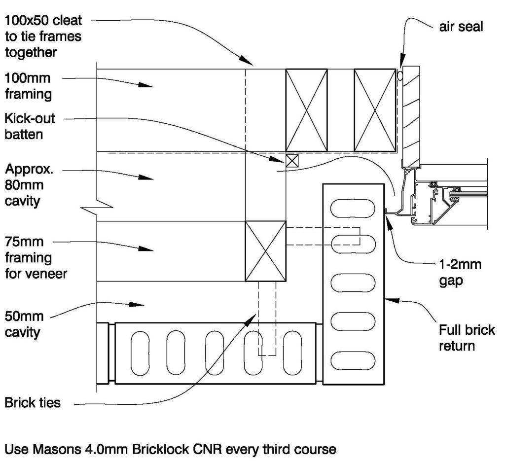 Clay Bricks – Deep Reveal Jamb Double Stud Framing