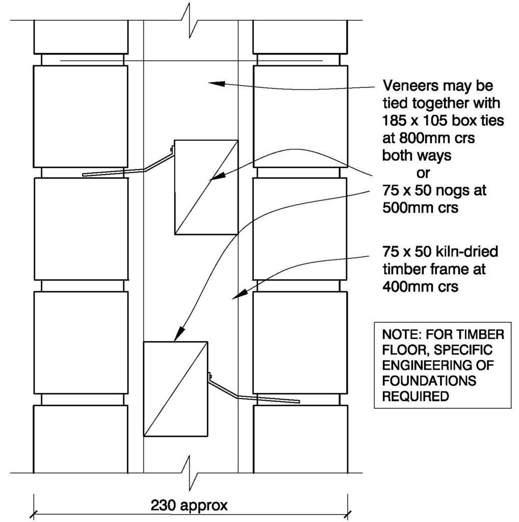 Clay Bricks – 19A Double Sided Brick Internal Walls Timber Floor