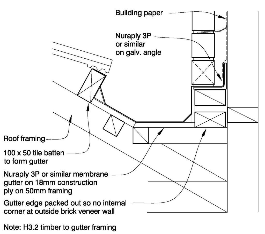 Clay Bricks – Internal Gutter / Brick On Shelf Angle