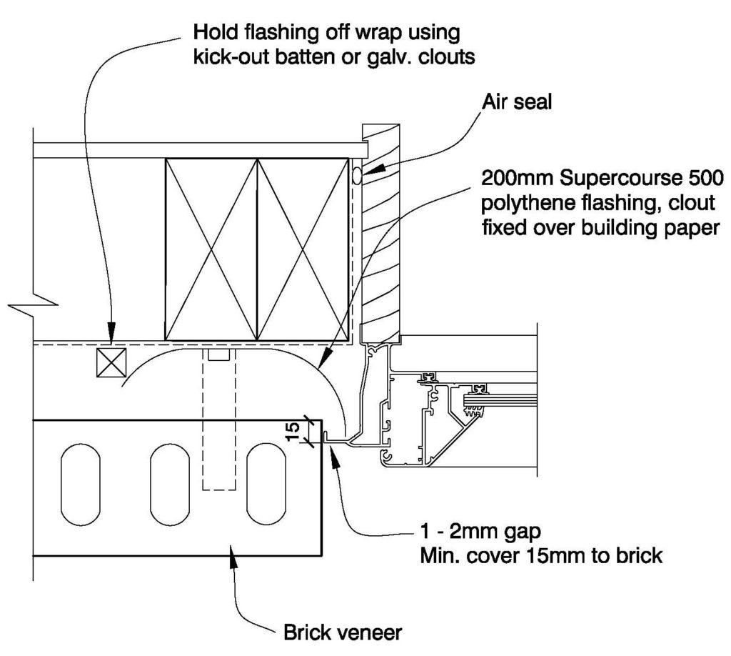 Clay Bricks – Window Jamb Aluminium