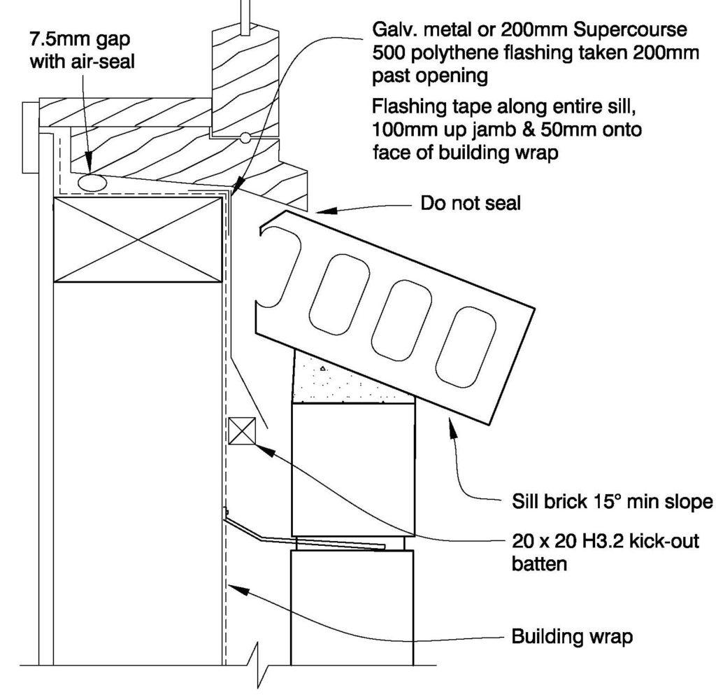 Clay Bricks – Window Sill Timber