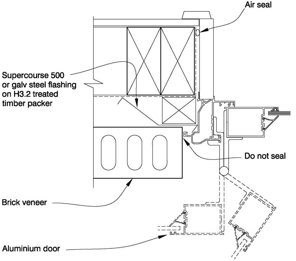 Clay Bricks – Door Jamb Aluminium