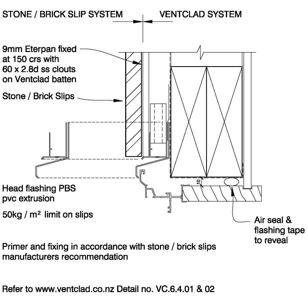Clay Brick – Window Head Brick Slips on Eterpan