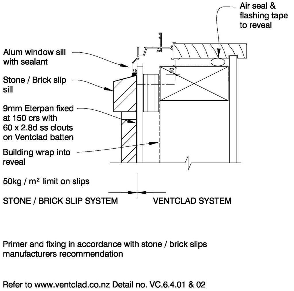 Clay Brick – Window Sill Brick Slips on Eterpan