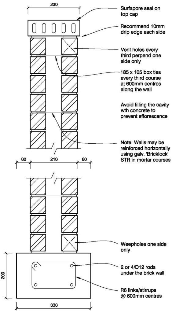 Clay Brick – Cavity Wall